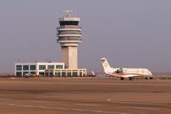 David business jet Stock Photo