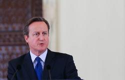 David Cameron lizenzfreies stockfoto