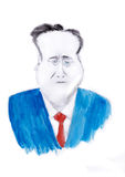 David Cameron Royaltyfri Bild