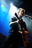 David Caraben, singer of Mishima band, performs at Salamandra Royalty Free Stock Image