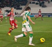 David Cerrajeria From Corodoba C.F. match league Royalty Free Stock Photography