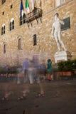 David circondante, Firenze fotografia stock