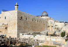 David City in Jerusalem Royalty Free Stock Photo
