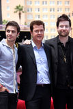David Cook, Kris Allen, Simon Fuller Stock Photo