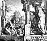 David Covets Bathsheba Royalty Free Stock Image