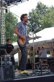 David Crowder Band bij het Festival van de Impuls van de Wereld Stock Foto