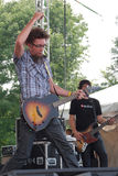 David Crowder Band at The World Pulse Festival Stock Photo