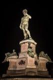 David da Michelangelo, Firenze Immagini Stock