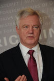 DAVID DAVIS FOREIGN SECT.WITH ANDERS SAMUELSEN Stock Images