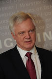 DAVID DAVIS FOREIGN SECT.WITH ANDERS SAMUELSEN Royalty Free Stock Photography