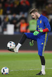 David de Gea juggling with the ball Royalty Free Stock Images