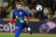 David de Gea juggling with the ball Royalty Free Stock Photo