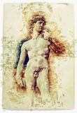 David de Michelangelo libre illustration