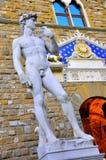 David de Michelangelo em Florença Fotografia de Stock