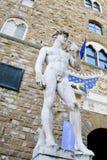 David di Michelangelo Immagini Stock