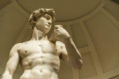 David door Michelangelo, Florence royalty-vrije stock foto's