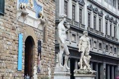 David door Michelangelo, Florence royalty-vrije stock fotografie