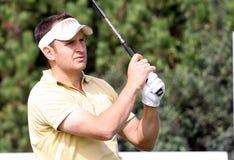 David Dupart at the Golf Open de Paris 2009 Royalty Free Stock Photos