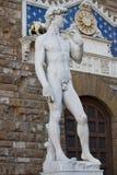 David durch Michelangelo Lizenzfreie Stockfotografie
