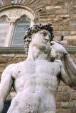 David durch Michelangelo Lizenzfreies Stockbild