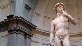David durch Michelangelo lizenzfreie stockbilder