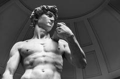 David durch Michelangelo, Florenz stockbilder
