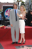 David E. Kelley, Michelle Pfeiffer Stock Photography