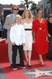 David E. Kelley, Michelle Pfeiffer Stock Photos