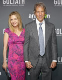 david e kelley Michelle pfeiffer kelley Fotografia Royalty Free