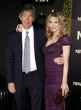 David E. Kelley and Michelle Pfeiffer Royalty Free Stock Image