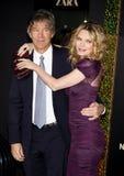 David E. Kelley and Michelle Pfeiffer Stock Image