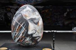 david Easter jajka piechur Zdjęcie Stock