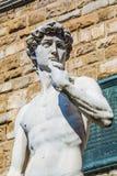 David en Florencia fotografía de archivo libre de regalías