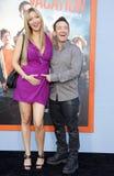 David Faustino och Lindsay Bronson Royaltyfria Foton