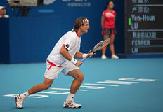 David Ferrer at the 2010 China Open Stock Photos