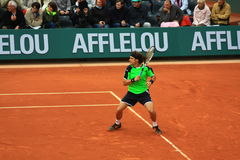 David Ferrer chez Roland Garros 2013 Images stock