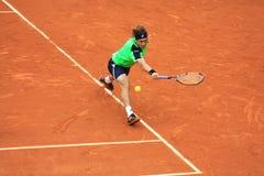 David Ferrer chez Roland Garros 2013 Image libre de droits