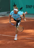 David FERRER (ESP) at Roland Garros 2010 Stock Images