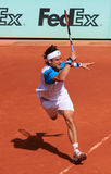 David Ferrer at Roland Garros 2011 Royalty Free Stock Photography