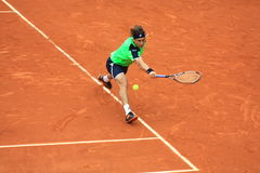 David Ferrer at Roland Garros 2013 Royalty Free Stock Image