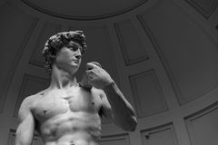 David - Florence - Italie Royalty-vrije Stock Afbeeldingen