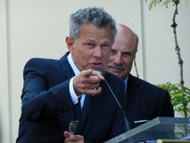 David Foster and Dr. Phil Royalty Free Stock Images