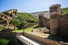 David Gareja cave monastery royalty free stock photography