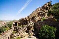 David Gareja cave monastery Royalty Free Stock Image