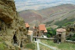 David Gareja cave monastery Kakheti. Georgia. Stock Image