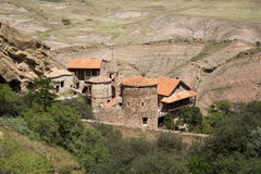 David Gareja monastery complex Royalty Free Stock Images