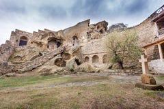 David Gareja Monastery Complex Georgia Arkivfoto