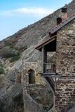 David Gareja. Old cave city in Georgia Stock Photo