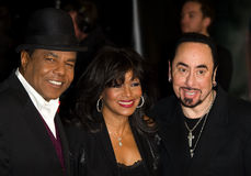 David Gest, Rebbie Jackson, Tito Jackson Royalty Free Stock Photos