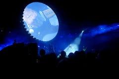 David Gilmour, живет на Помпеи 2016 Стоковые Фотографии RF